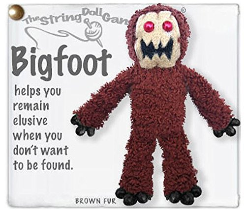 Voodoo Dolls Toys (Kamibashi Bigfoot Original String Doll Gang Keychain)