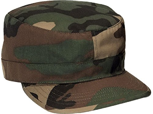 (Military Fatigue Cap Tactical Uniform Hat Army Field Patrol Camouflage Fitted)