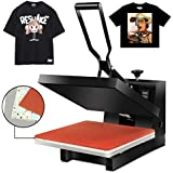 "Super Deal 15"" X 15"" Digital Heat Press Clamshell Transfer Machine for T-Shirt"