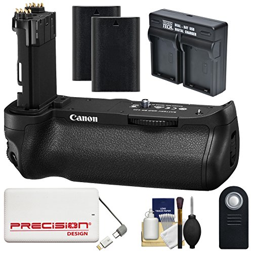 Canon-BG-E20-Battery-Grip-for-EOS-5D-Mark-IV-Digital-SLR-Camera-with-2-LP-E6-Batteries-Dual-Charger-5000mAh-Power-Bank-Kit