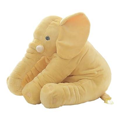 Scrox Elefante Peluches Bebes Gigantes de Juguete Almohada Suave de la Felpa Gatos Perros Muñecas Perezoso