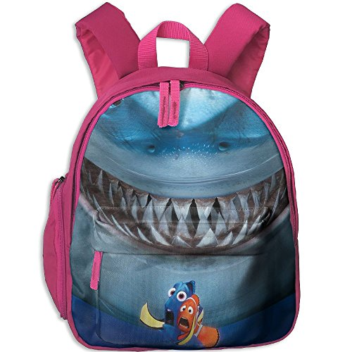 Finding Nemo Bruce Costume (Baby Toddler Child Kid Finding Nemo Bruce Pre School Travel Camping Backpack Pink)