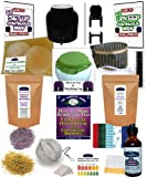 KKamp Continuous Brew Kombucha COMPLETE PACKAGE - BK w/ Stand + Year Round Heater + Tee/Cap Set