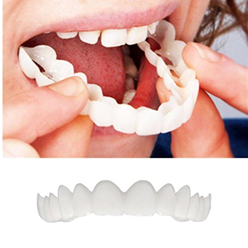 KFSO Braces Denture Teeth-Serrated Cosmetic Teeth For Dental Beauty-Perfect Smile Hug Tooth Cap-Make White Teeth-Beautiful And Neat-Instant Smile-Perfect Smile