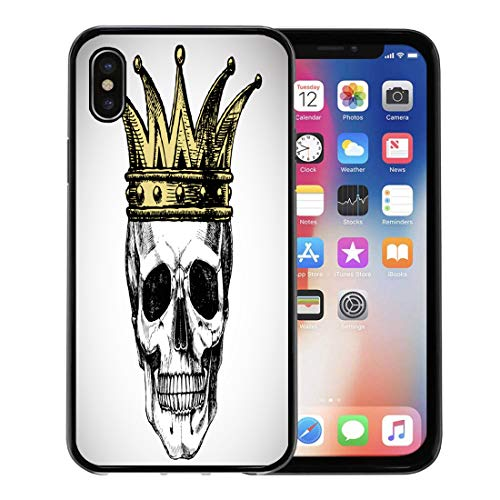 Semtomn Phone Case for Apple iPhone Xs case,Goth