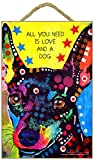 (SJT78230) Miniature Pinscher - All you need is love and a dog 7