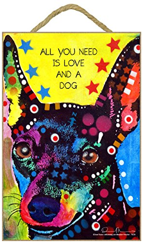 SJT ENTERPRISES, INC. Miniature Pinscher - All You Need is Love and a Dog 7