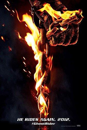 GHOST RIDER SPIRIT OF VENGEANCE 2011 ORIGINAL STUDIO RELEASE MOVIE POSTER 27X40 Unbranded