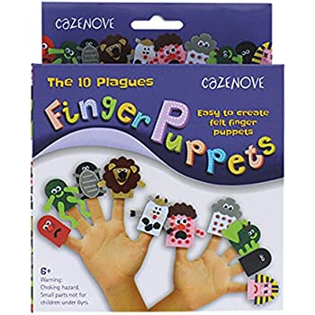 Amazon Com Passover 10 Plagues Puppet Kit Toys Amp Games