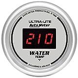 "Auto Meter 6537 Ultra-Lite Digital 2-1/16"" 0-300 Degree F Digital Water Temperature Gauge"