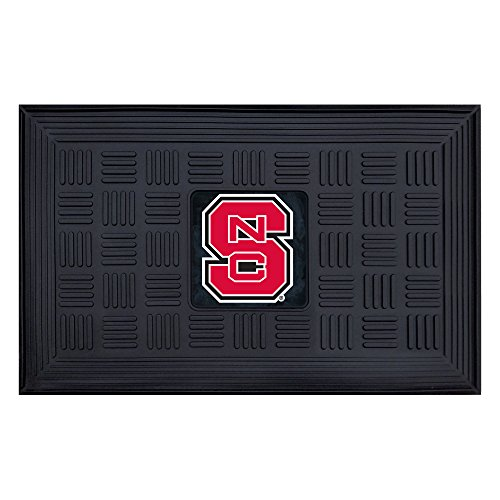 Fanmats NCAA North Carolina State University Wolfpack Vinyl Door Mat State University Door