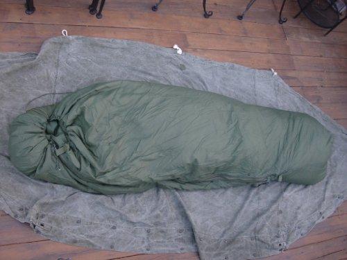 US USMC MILITARY MODULAR SYSTEM GREEN PATROL SLEEPING BAG, Outdoor Stuffs