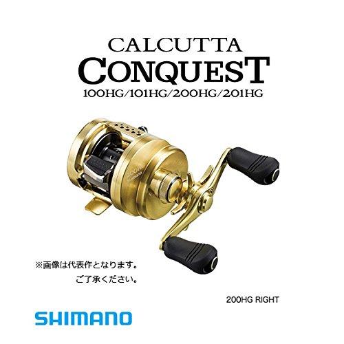 シマノ リール 15 カルカッタ コンクエスト 101HG 左の商品画像