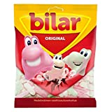 Ahlgrens Bilar - Soft Chewy Marshmallow Cars 125g - Pack of 6