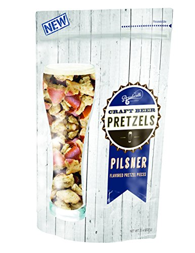Pilsner Flavored Craft Beer Pretzels