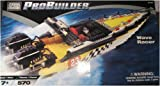 Mega Bloks Pro Builder Wave Racer, 9748, 570 Pieces