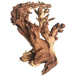 Reptile Large Wood Toy,Driftwood Branches Reptiles Aquarium Decoration Assorted Size,Natural Habitat Decor Wood for Lizad (1 Large Wood)