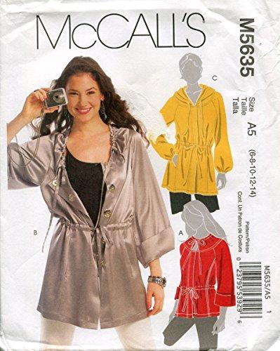 McCalls Pattern Misses Lengths 6 8 10 12 14