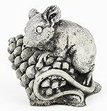 Mini Mouse Garden Statue Cement Figure Concrete Sculpture Mouse Cast Stone Figurines Review