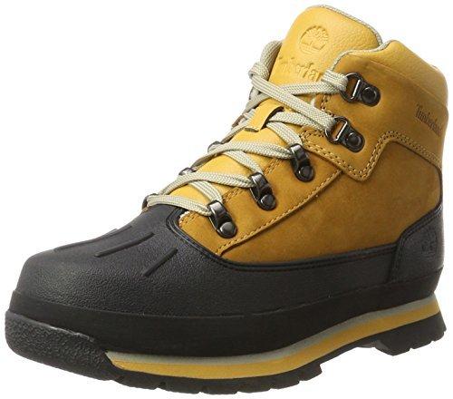 Timberland Junior Euro Shell Toe Hiking Boots Wheat 6.5 M