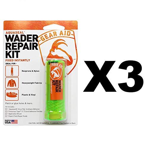 Aquaseal Wader Repair Kit w/Patch Blk 1/4oz