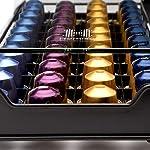 Homiso-Porta-cialde-da-caffe-compatibile-con-Nespresso-40-capsule-colore-nero-e-vetro