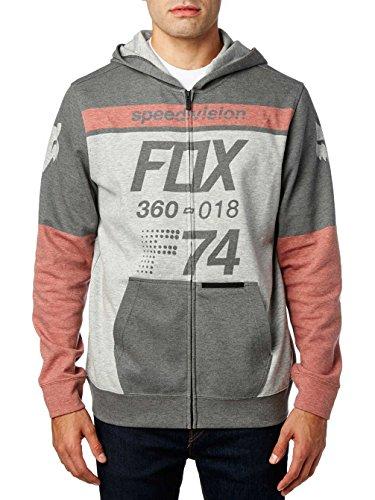 Fox Fleece Zip-Hoody Draftr Schwarz Gr. XL