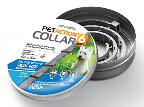 Pet Action Six Month Collar Fleas Ticks, Small Dogs, 2 Pack by Pet Action (Image #6)