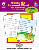 Guess the Covered Word for First Grade, Joyce Kohfeldt and Annie King, 0887245625