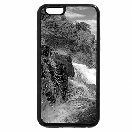 iPhone 6S Case, iPhone 6 Case (Black & White) - Victoria Waterfall, Zambezi River