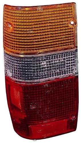 91 Dodge Pickup Truck (Mitsubishi Pickup Truck 87-96 / Dodge RAM-Pickup Truck 50 87-93 Tail Light Assembly Lens Only Lh US Driver)