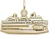 Rembrandt Washington State Ferry Charm - Metal - 14K Yellow Gold
