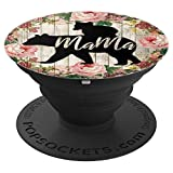Mama Bear Cub Mothers Day Gift for Mom of 1 Year Old Toddler - PopSockets Grip and Stand for Phones...