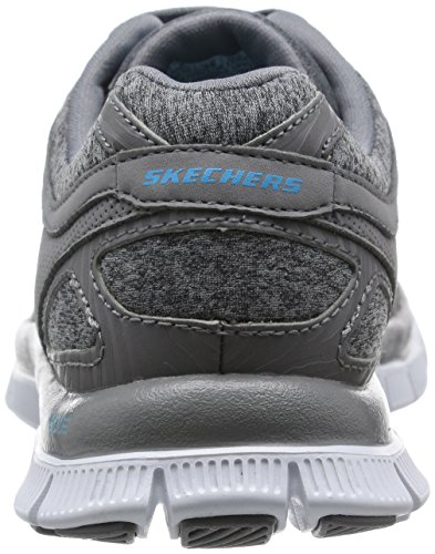 SkechersFlex Appeal Eye Catcher - Zapatillas de running mujer Gris - Grey (Gry)