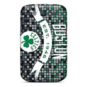 Fashion Protective Boston Celtics Case Cover For Galaxy S3