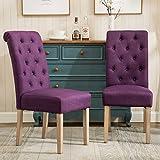 Amazon.com: Purple - Chairs / Kitchen & Dining Room Furniture ...