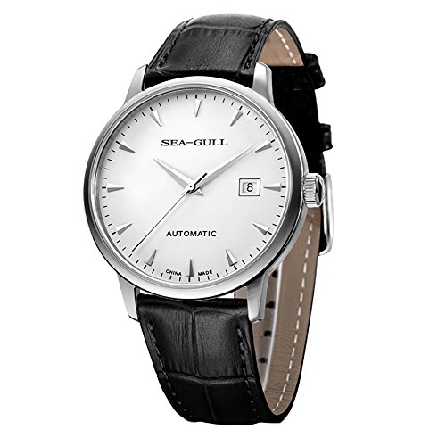 Sea-gull 819.613 Automatic Mechanical Men's Watch Self Winding(White Dial)