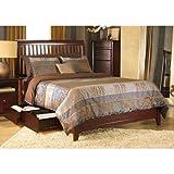 Modus Furniture 1X50Y4 City II Rake Storage Bed, Full, Coco