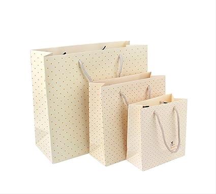 Bolsa de asas amarilla 20Pcs | 3 tamaños disponibles | bolsa ...