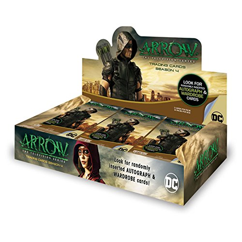 Box Season Cards Trading 4 - Arrow Season 4 Factory Sealed Trading Card Hobby Box