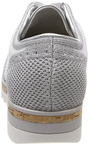 23707 Zapatos white Brogue Comb Mujer Marco De Para Cordones Blanco Tozzi 57qExOwP