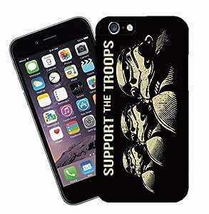 Diseño de Star Wars 06 apoyar las tropas 1 - esta cubierta cabrá Apple Modelo iPhone 6s (no 6s plus) - Ideas para regalos de Eclipse