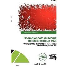 Championnats Du Monde de Ski Nordique 1937