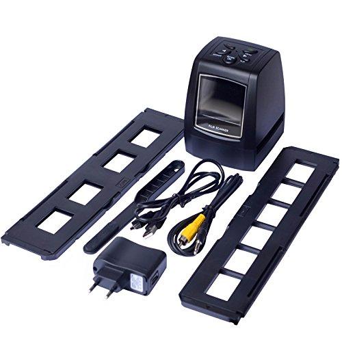 Del-Digital 35mm Negative Slide Film Scanner Photo Digitalizer Analog to Digital JPEG Picture File Converter Films Photo Scanner Copier 2.4'' LCD, US Power Plug by Del-Digital (Image #7)