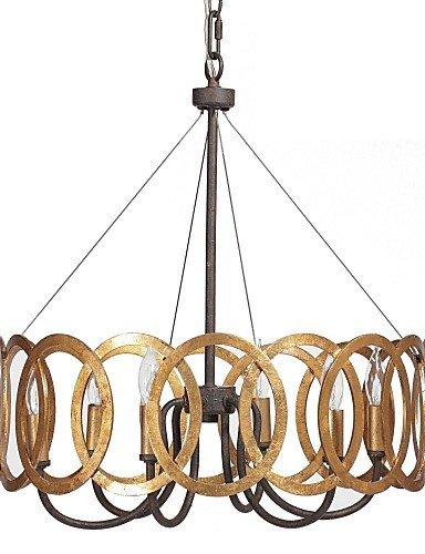 DXZMBDM® MAX:60W Traditionell-Klassisch Golden Metall Kronleuchter Schlafzimmer / Esszimmer / Studierzimmer/Büro / Korridor , 220-240v