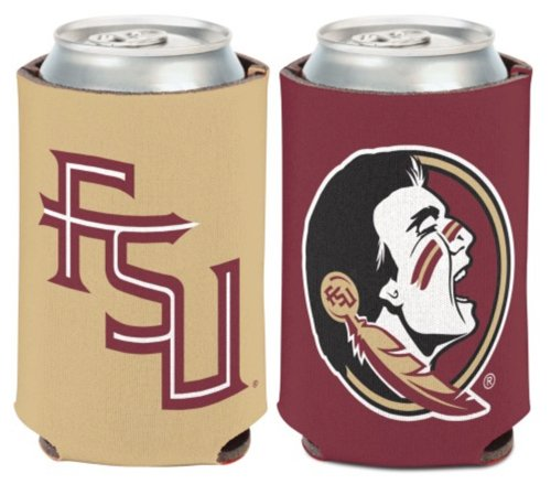 - WinCraft NCAA Florida State University Seminoles 1 Pack 12 oz. 2-Sided Can Cooler