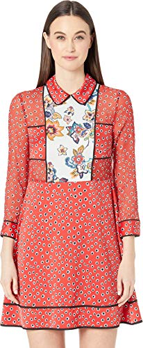 Ted Baker Women's Valoria Dress Red 1 (Baker Ted Dress Print)