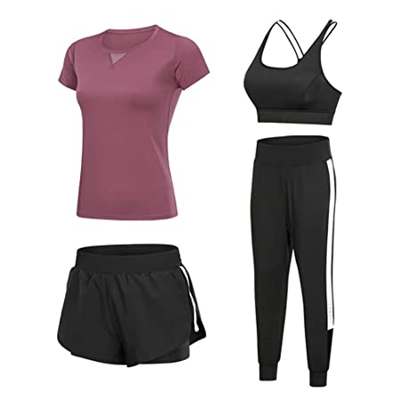 YKKHHCD Conjunto Deportivo De Yoga para Mujer, Ropa Deportiva para ...