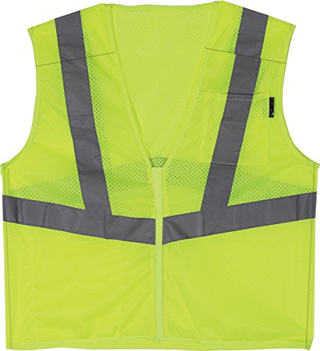LIFT Safety Viz-Pro 5-Point Break Away Vest (Yellow, (Yellow Polyester Breakaway Vest)