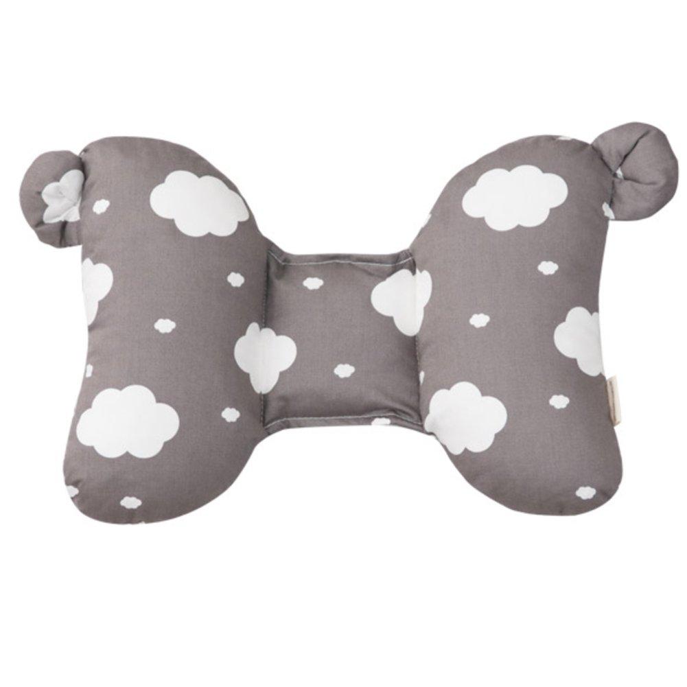 Happy Cotton 2 Tone Infant's Cloud Head Pillow Gray 30 x 22 cm